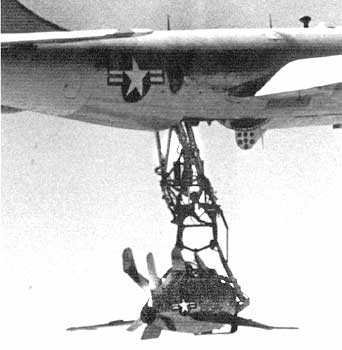 F-85 Goblin caught