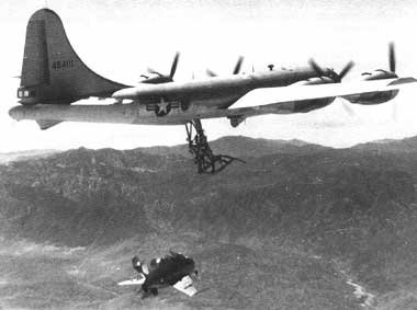 F-85 Goblin flying