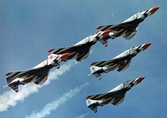 Thunderbirds, McDonnell Phantom