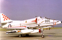 A4 Skyhawk at rest