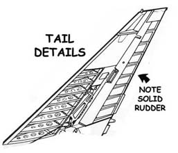 A4 tail details
