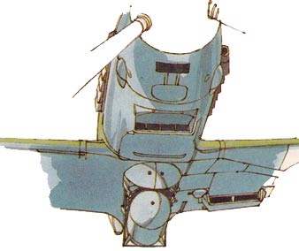 Me-109 Lower Nose view