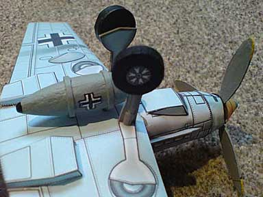 Me-109 Cardmodel from Richard