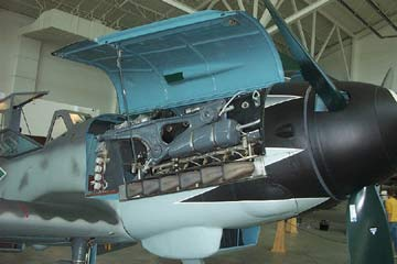 ME-109 engine Evergreen Museum