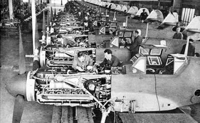 Messerschmitt Me-109 Factory