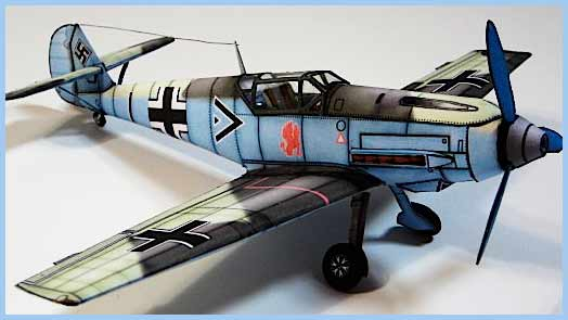 Messerschmitt-Me109 Fiddlersgreen Modeling Madness 2010 winner