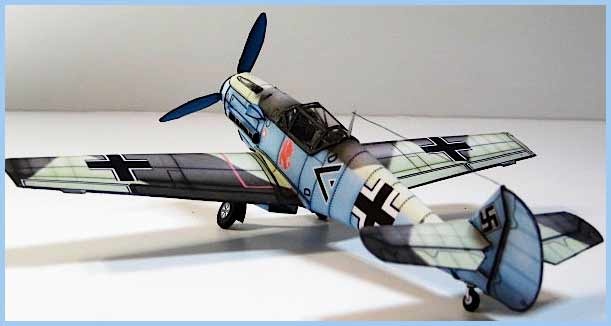 Messerschmitt-Me109 Fiddlersgreen MM 2010 winner