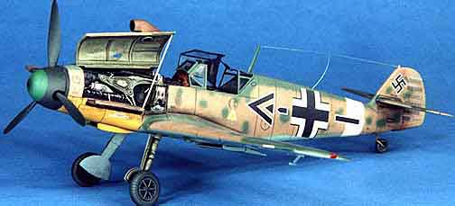 Plastic model, Messerschmitt ME-109