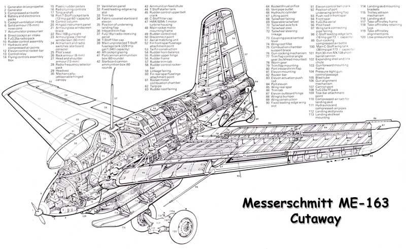 Messerschmitt Me-163 Komet   Aircraft