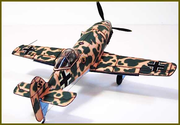 Messerschmitt Me 209 Fiddlersgreen Modeling Madness 2010 winner