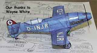 Messerschmitt Model by Wayne
