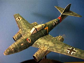 Messerschmitt Me 262 Fiddlers Green Cardmodel