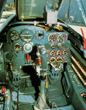 Messerschmitt Me 262 Cockpit