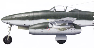 Messerschmitt Me 262 Nose