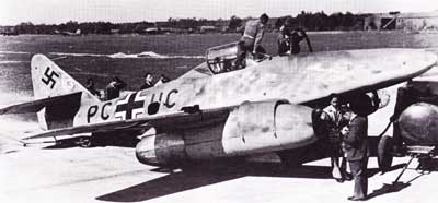 Messerschmitt Me 262 First Flight