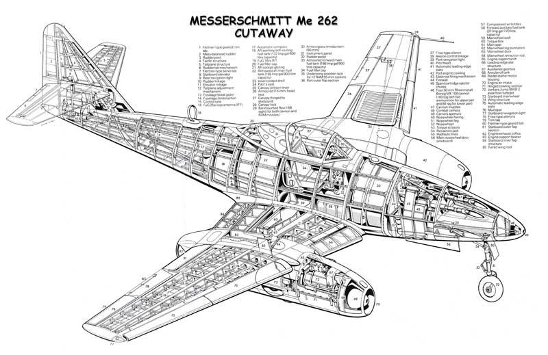 Messerschmitt Me262 Aircraft