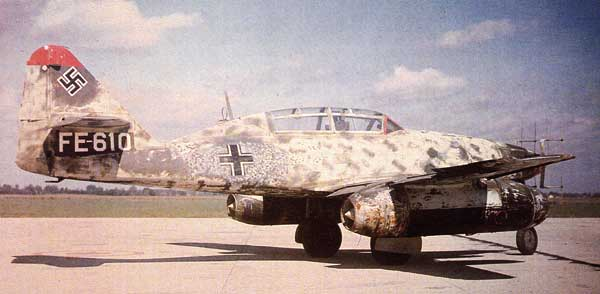 Messerschmitt Me 262 Parked