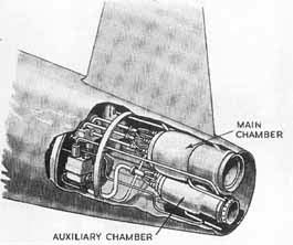 Messerschmitt ME-263 engine