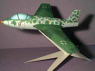 Messerschmitt Me 263 paper model