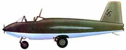 Messerschmitt ME-263 side