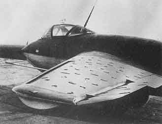 Messerschmitt ME-263 wing