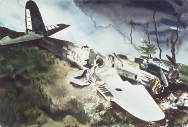 Messerschmitt Me210/Me410 Crash