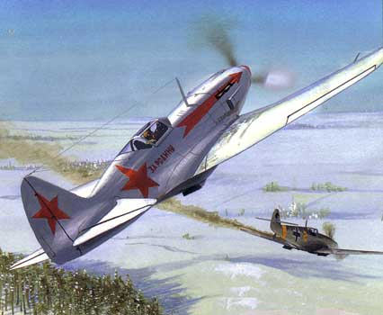 MiG-3 fighting