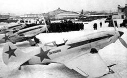 MIG-3s in Winter