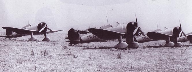 A5M 'Clauds' in the field  waiting