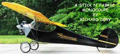 Stick and Fabric-Monocoupe