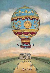 Montgolfier ballon bothers