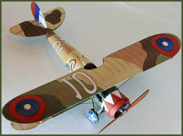 Nieuport 28 fiddlersgreen.net