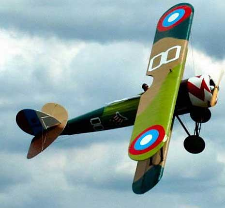 Nieuport 28 real thing