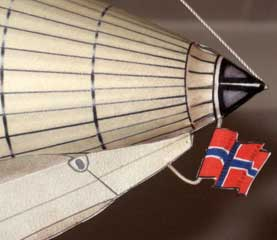 Norge airship flags