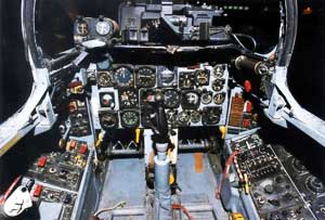 North American F-100 Super Sabre Cockpit