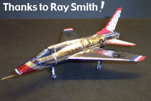 f 100 super sabre by ray smith