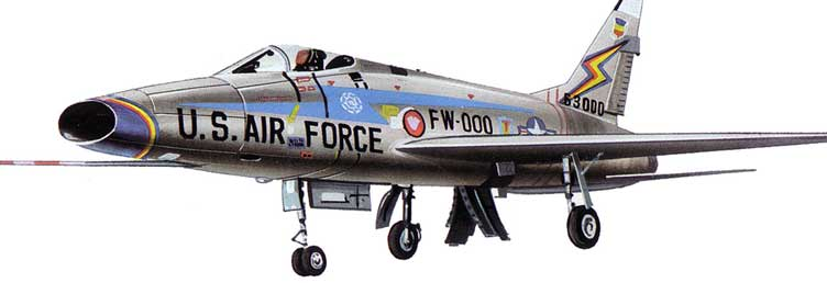 F-100 Super Sabre   Aircraft