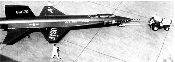 X-15-rolling out