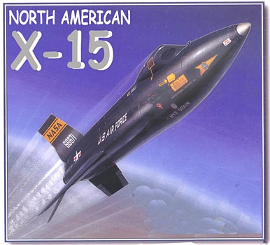 North American X-15 manned rocket