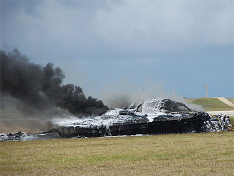 Northrop B-2 Spirit Crash
