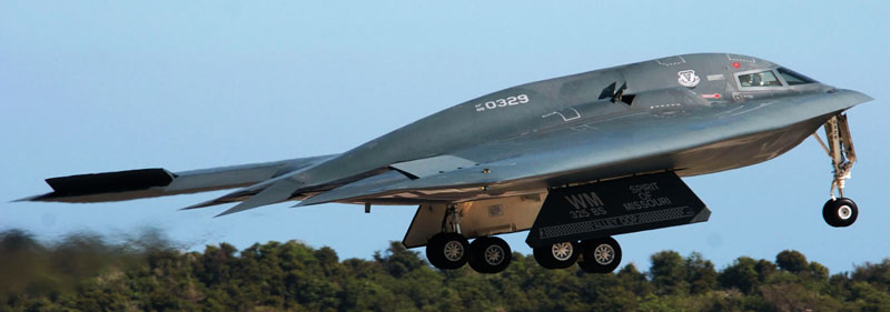 Northrop B-2 Spirit Take off