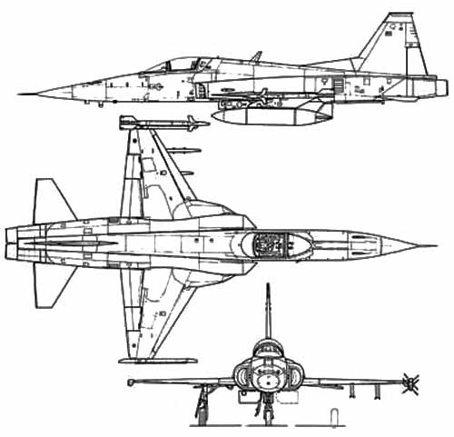 F-5 NORTHROP FREEDOM FIGHTER