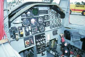 Northrop F-5 Cockpit