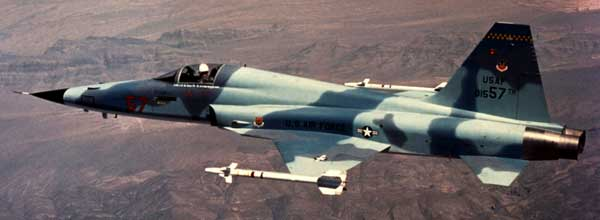 Northrop F-5 Freedom Fighter Inflight
