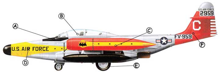 Nothrop F-89 Scropion Callout
