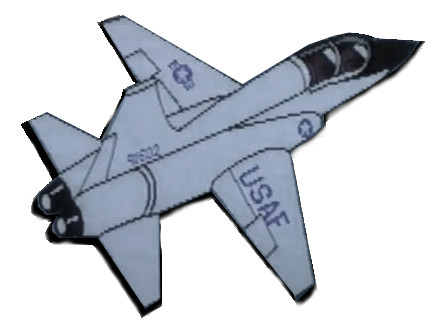 artist rendition of the NASA T-38 Talon