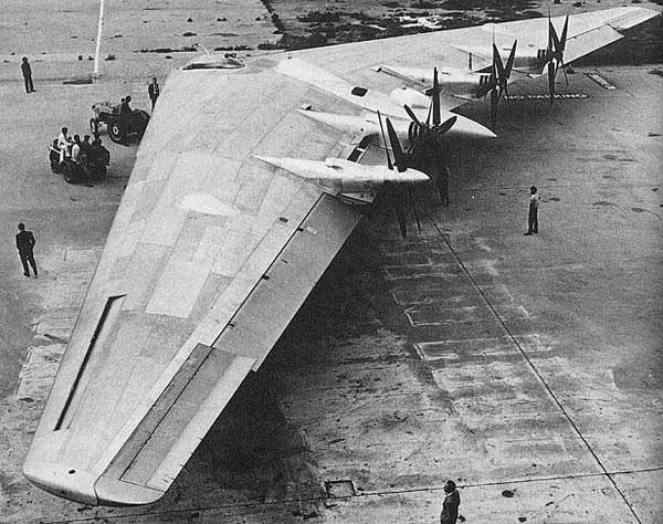 Nothrop XB-35 Flying Wing