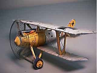 Pfalz DIII WWI German Scout paper model