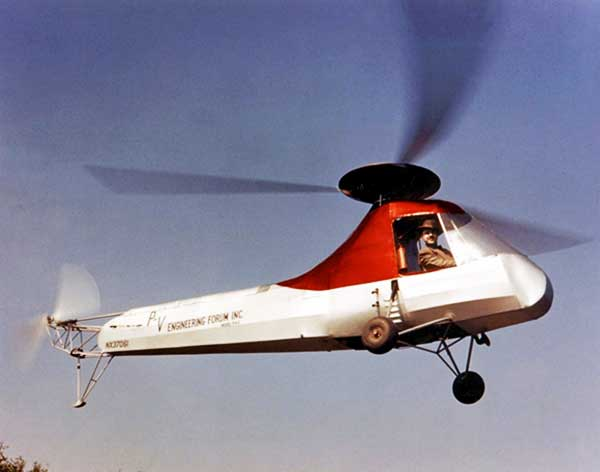  Piasecki-PV2 Helicopter
