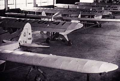 Piper J-3 Cub Assembly Line